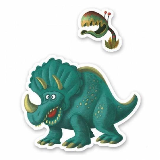 160 Stickers Dinosaures Djeco - 2