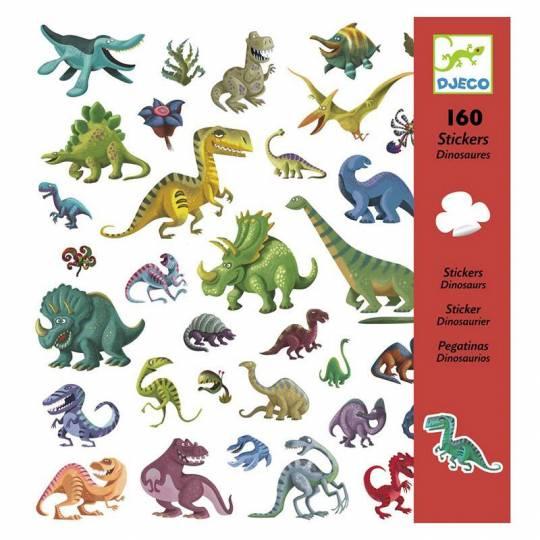 160 Stickers Dinosaures Djeco - 1