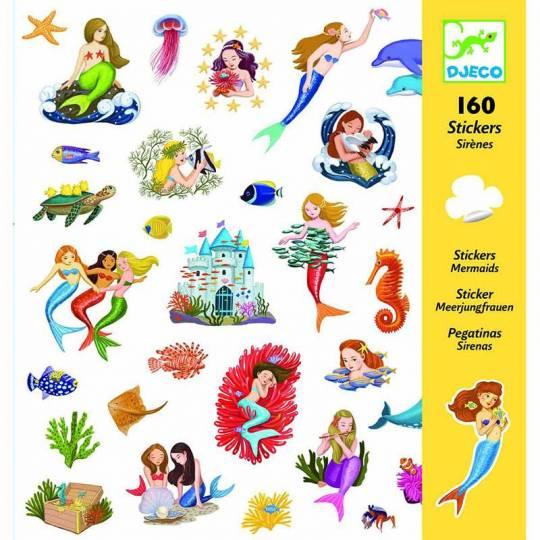160 Stickers Sirènes Djeco - 1