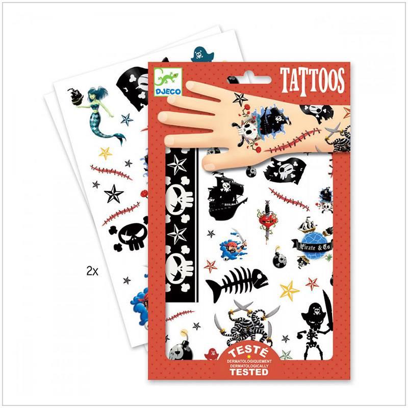 Tatoos Pirates Djeco Acheter Sur La Boutique Bcd Jeux