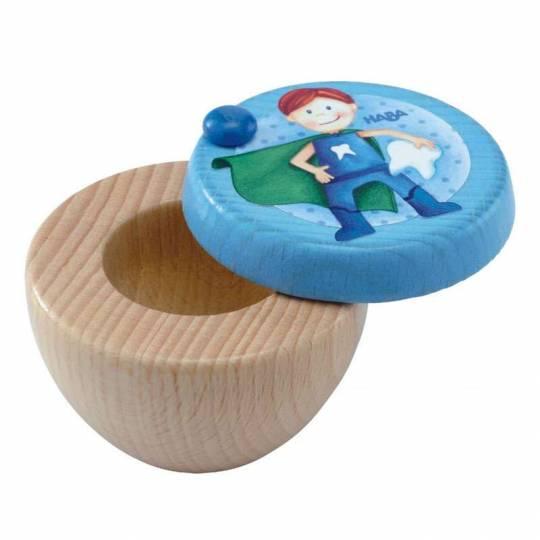 Boîte pour dents de lait Super héros Haba - 1