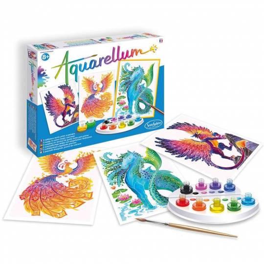 Aquarellum Animaux Mythiques SentoSphère - 2