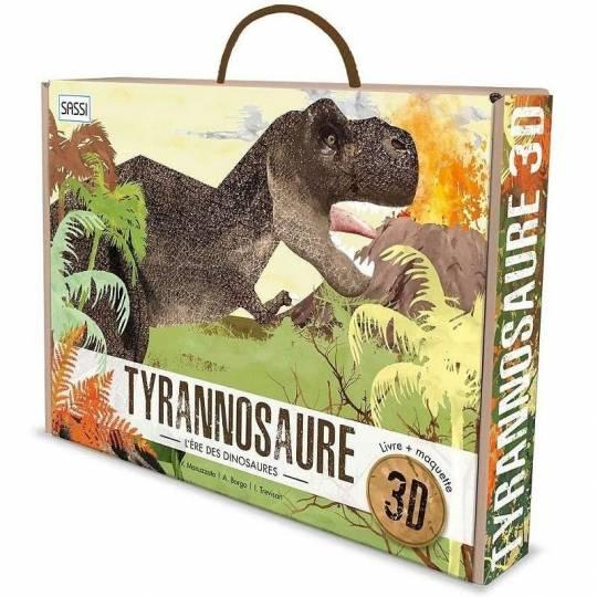 Le Tyrannosaure 3D - L'ère des dinosaures Sassi - 1
