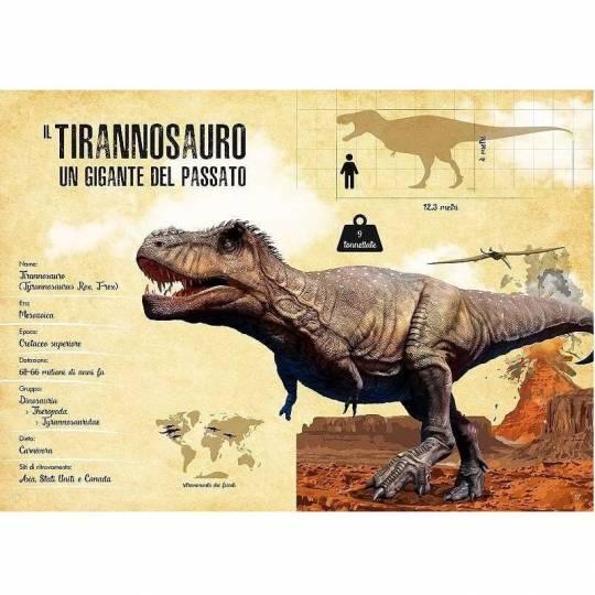 Le Tyrannosaure 3D - L'ère des dinosaures Sassi - 2