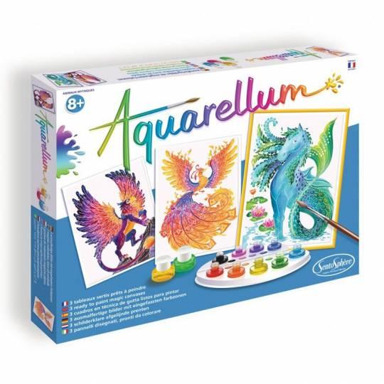 Aquarellum Animaux Mythiques SentoSphère - 1