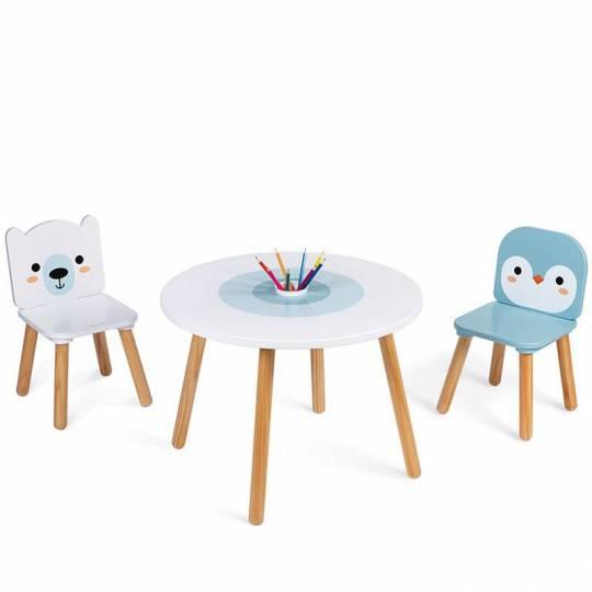 Table et 2 chaises - Banquise Janod - 3