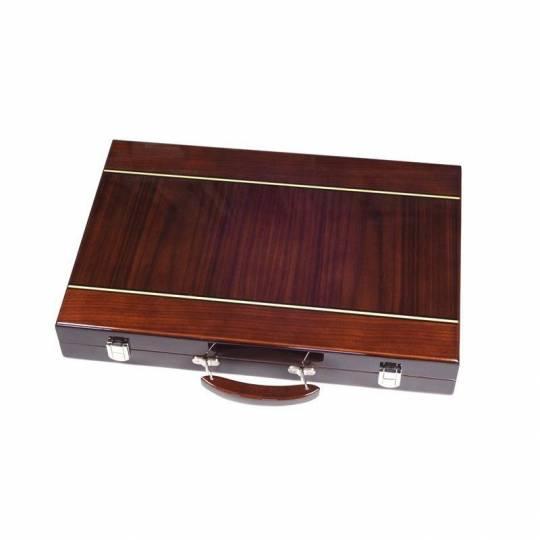 Backgammon bois marqueté luxe 46 cm Prestige - 2