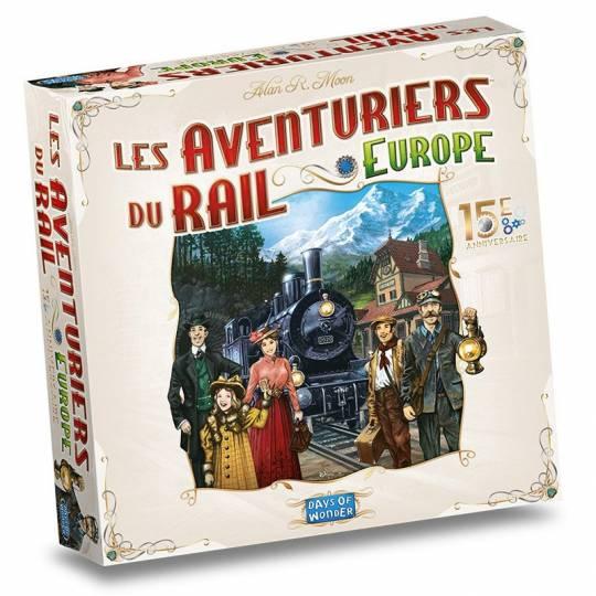 Les Aventuriers du Rail Europe 15e Anniversaire Days of Wonder - 1