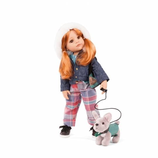 Hannah et son chien Götz - 1