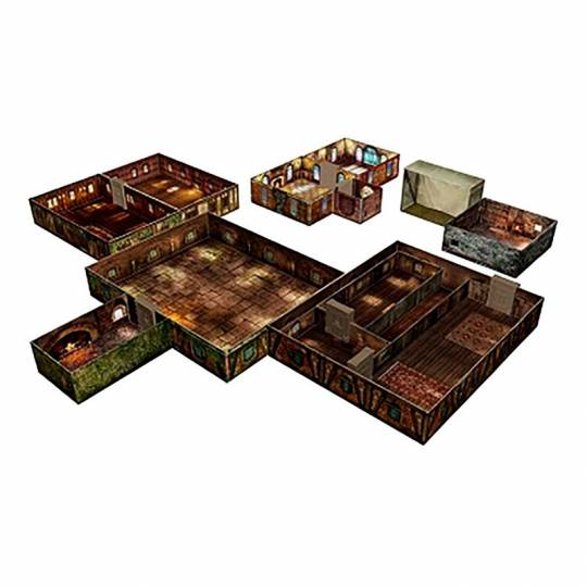 Tenfold Dungeon - The Town Room 17 Games - 2