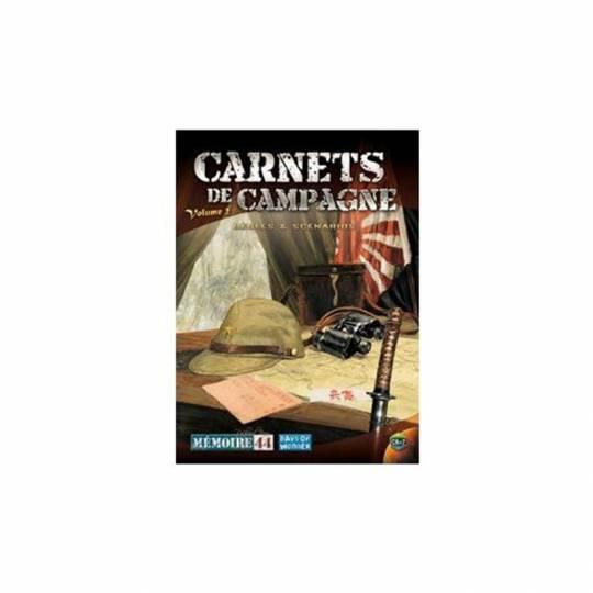 Extension Carnet de campagne vol. 2 - Mémoire 44 Days of Wonder - 1