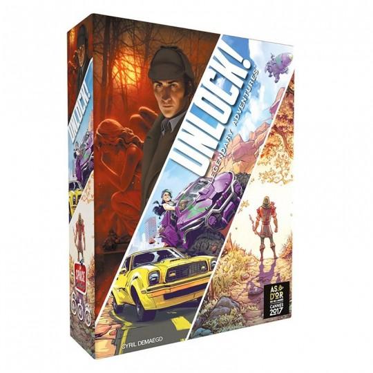 Unlock ! 9 - Legendary Adventures Space Cowboys - 1