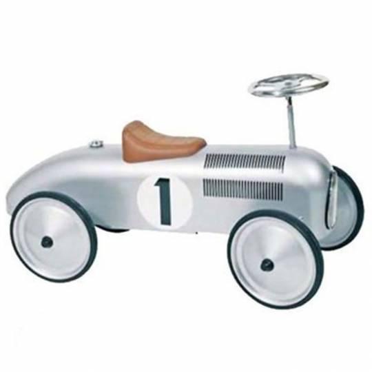 Porteur voiture en argent Goki - 1