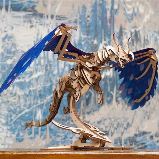 Dragon Tempête Ugears - Puzzle 3D en bois UGEARS - 3