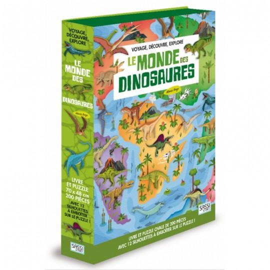 Voyage, découvre, explore - Le monde des dinosaures Sassi - 2