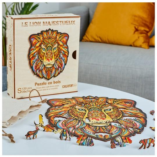 Le Lion Majestueux taille S - PUZZLE CREATIF Puzzle Creatif - 2