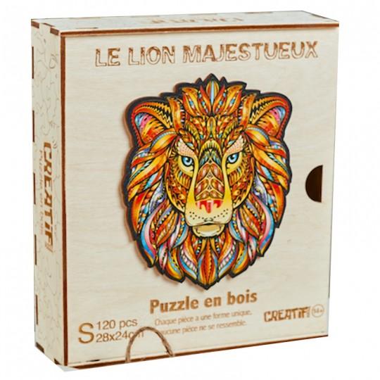 Le Lion Majestueux taille S - PUZZLE CREATIF Puzzle Creatif - 1