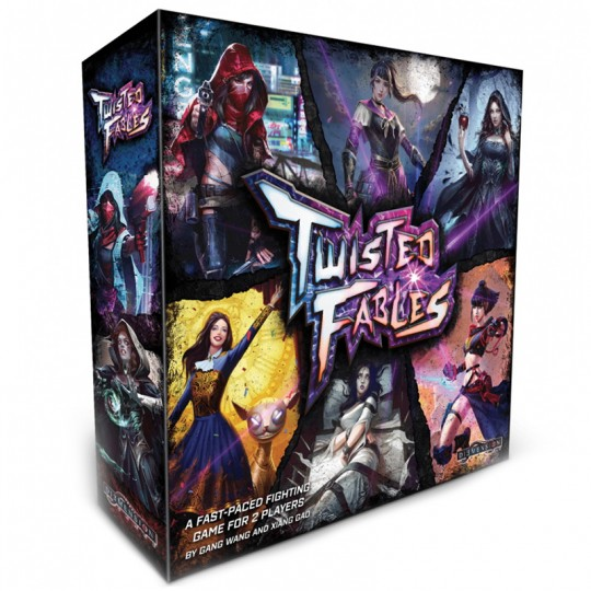 Twisted Fables + PACK 1 (4 figurines offertes) Diemension Games - 1