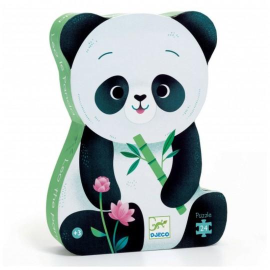 Puzzle 24 pièces Léo le panda - Djeco Djeco - 1
