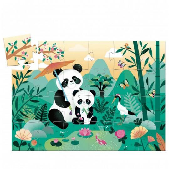 Puzzle 24 pièces Léo le panda - Djeco Djeco - 2