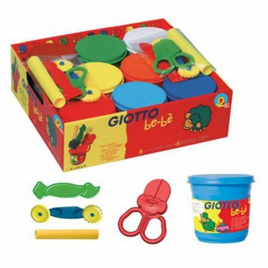 Super Pâte à jouer  - Schoolpack bébé Giotto - 2