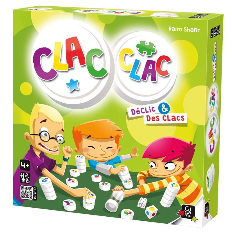 Clac Clac Jeu De Societe En Famille Des 4 Ans Gigamic