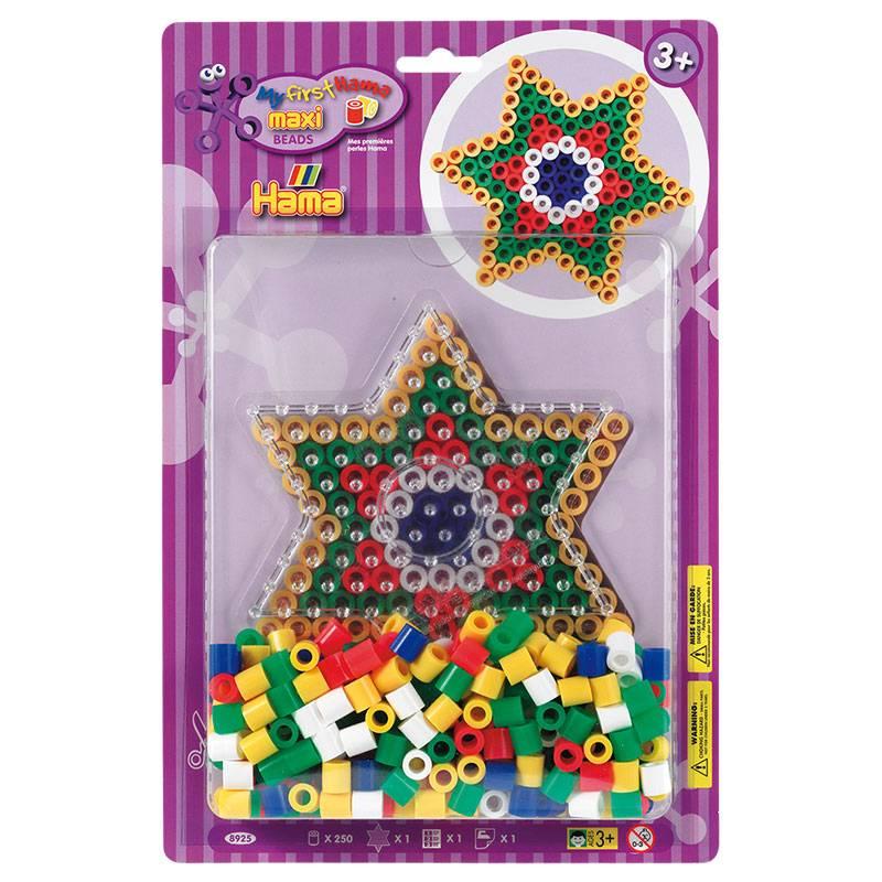 Hama Maxi Kit De Perles à Repasser Etoile
