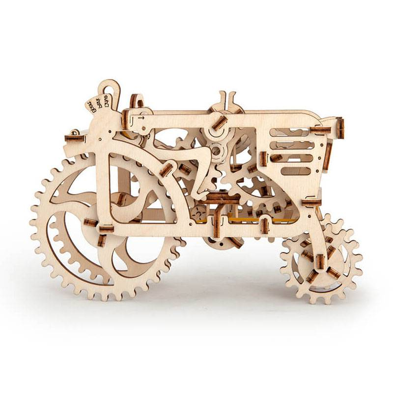 tracteur puzzle 3d m canique en bois ugears boutique bcd jeux. Black Bedroom Furniture Sets. Home Design Ideas