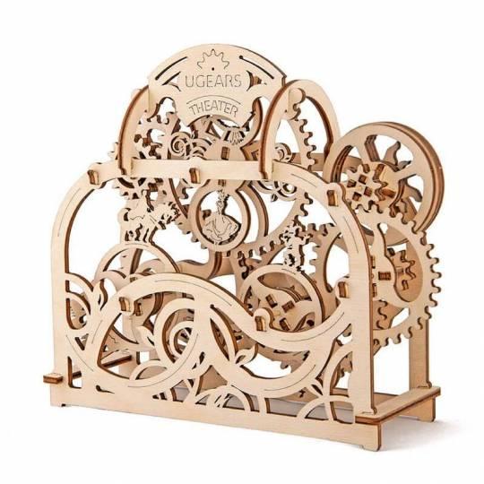 Théâtre UGEARS - Puzzle 3D Mécanique en bois UGEARS - 4