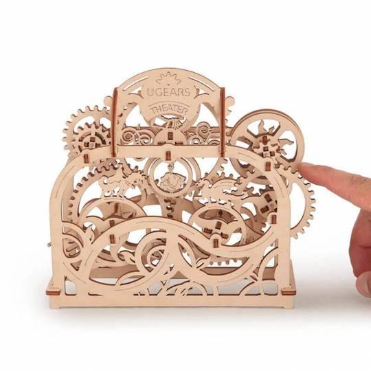 Théâtre UGEARS - Puzzle 3D Mécanique en bois UGEARS - 2