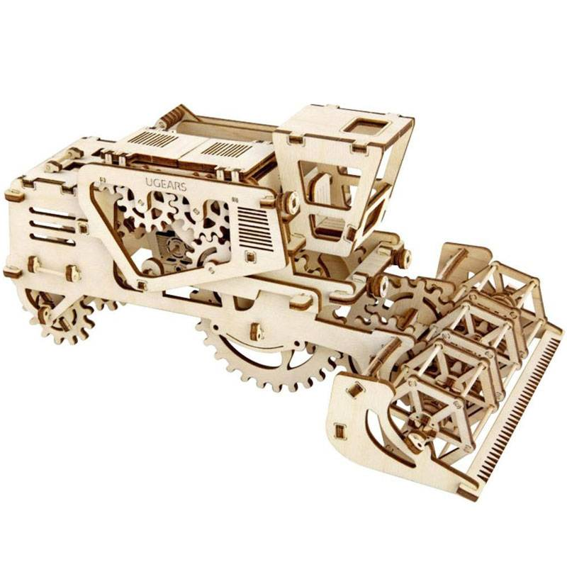 maquette en bois moissonneuse batteuse ugears boutique bcd jeux. Black Bedroom Furniture Sets. Home Design Ideas
