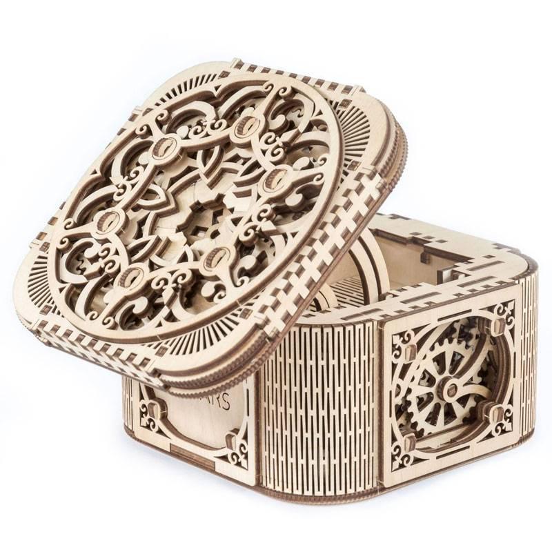 maquette boite bijoux mecanique