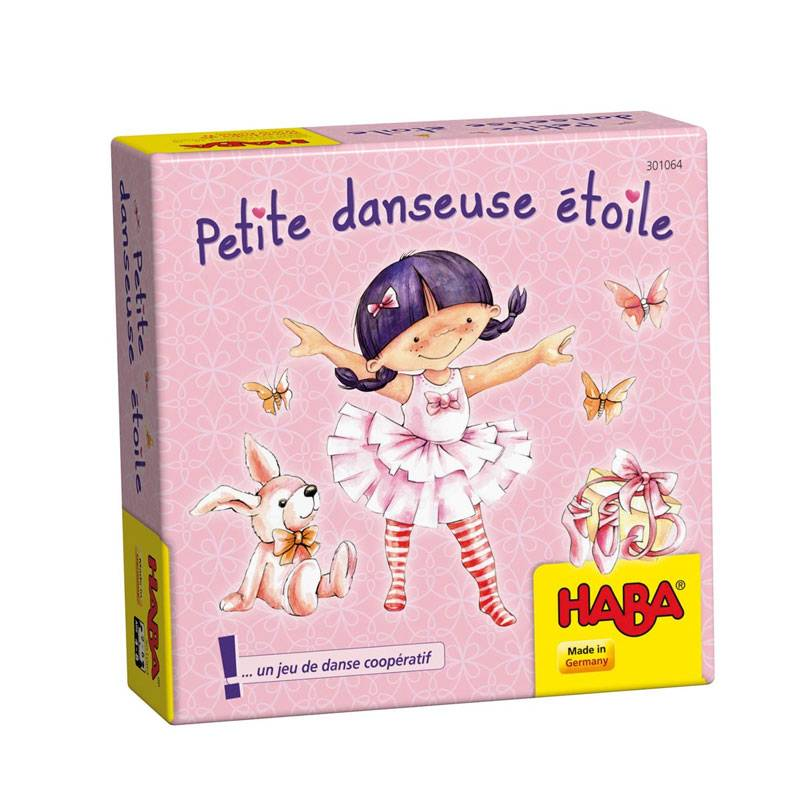 Petite Danseuse Etoile Un Jeu Haba Achat Boutique Bcd Jeux