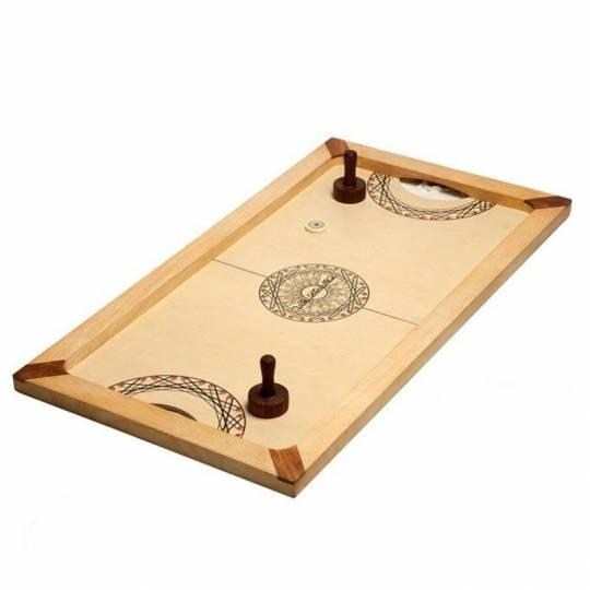 Table de Hockey Shuffle puck - 130cm Carrom Art - 1