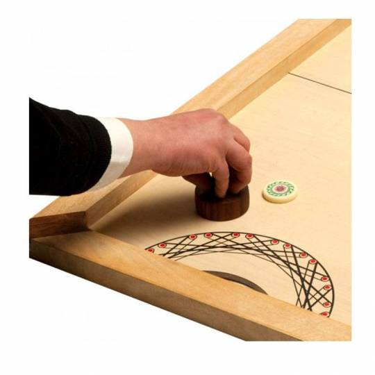 Table de Hockey Shuffle puck - 130cm Carrom Art - 3