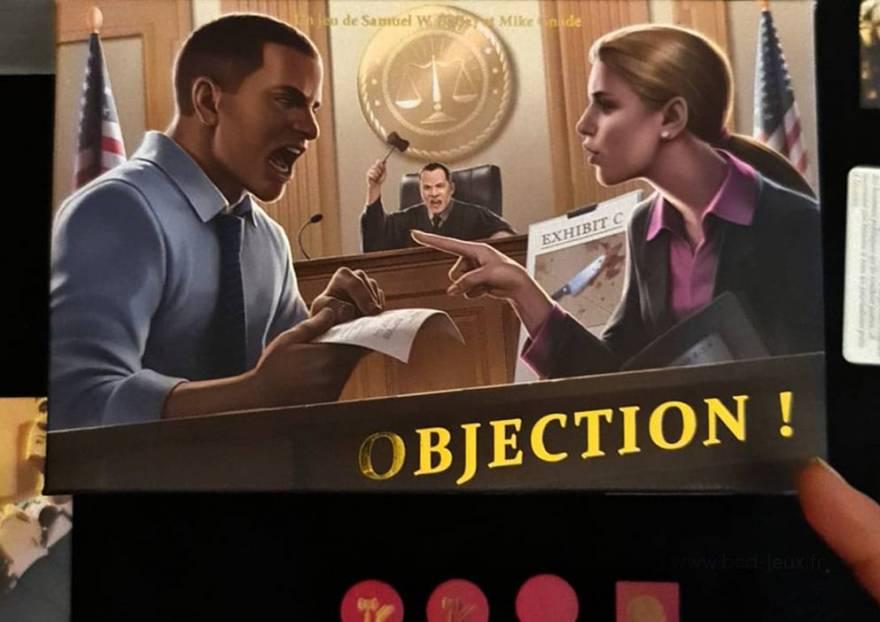 Présentation du Jeu de société Objection !