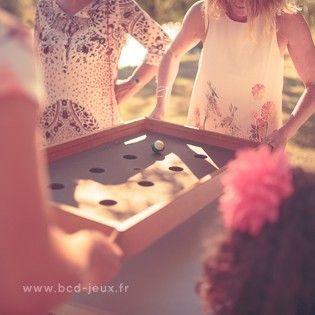 Animation mixte enfant et adulte avec des jeux en bois xxl