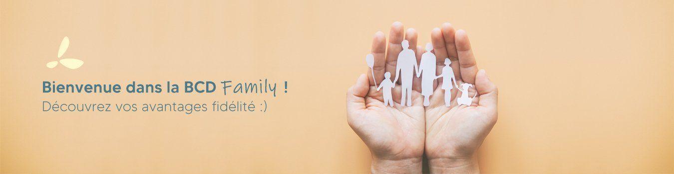Bienvenue dans la BCD Family !