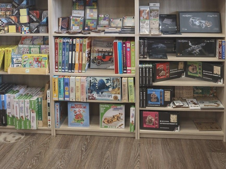 Boutique de jeux de société à Castelnaudary