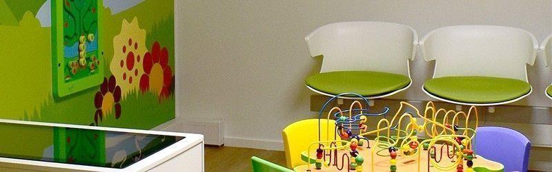 Un espace ludique et convivial pour aménager une salle d'accueil