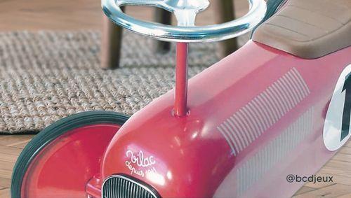 Porteur voiture vintage rouge de Vilac par BCD jeux