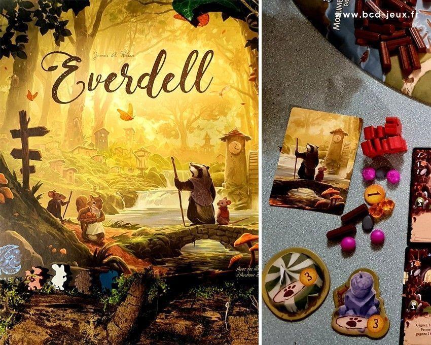 Jeu de société Everdell par BCD Jeux