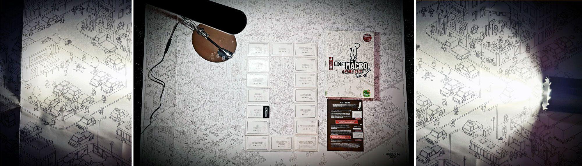 Jeu de société MicroMacro par BCD Jeux