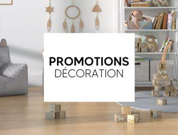 Promotions décoration pour chambre d'enfant et bébé