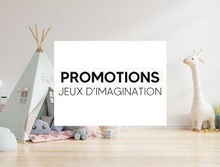 Promotion jeux d'imagination et d'imitation