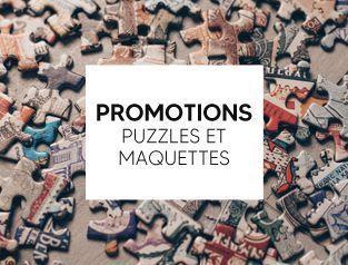 Promotions puzzles et maquettes